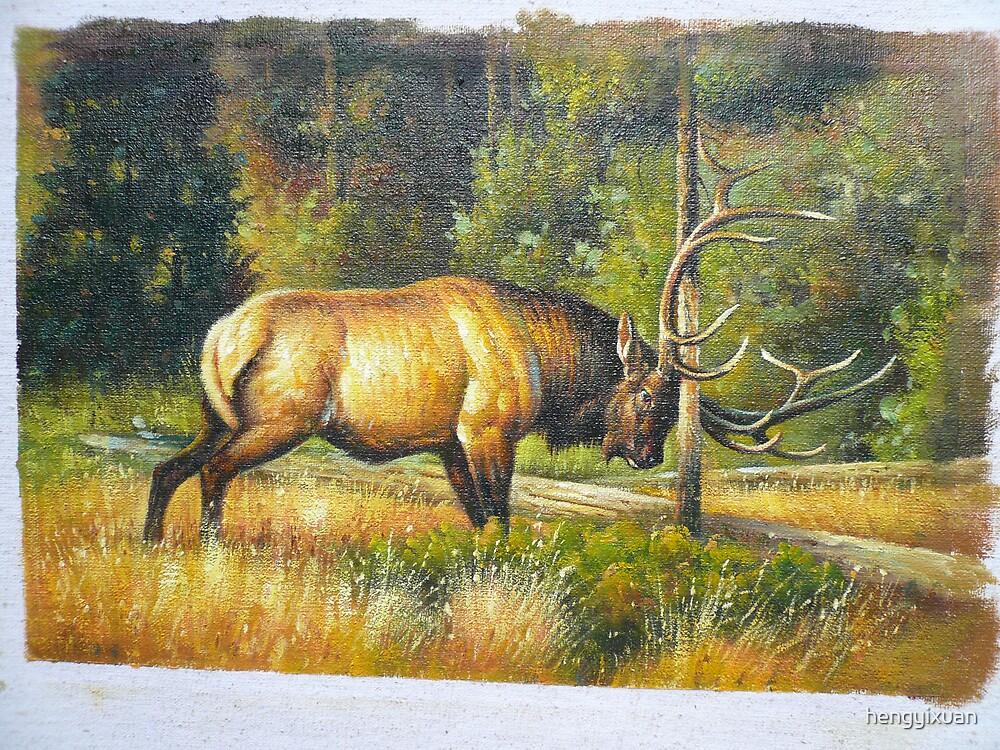 Deer by hengyixuan