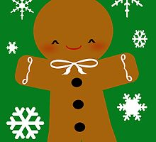 Gingerbread Man by littlegirllost