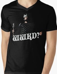 What Would King Do? Mens V-Neck T-Shirt