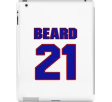 Basketball player Butch Beard jersey 21 iPad Case/Skin
