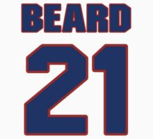 Basketball player Butch Beard jersey 21 by imsport