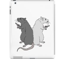 Rats with Gats iPad Case/Skin