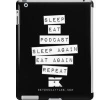 Podcast... Repeat iPad Case/Skin