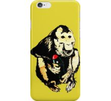 This Monkey Means Business iPhone Case/Skin