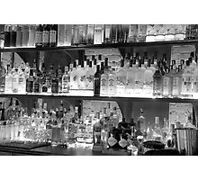 BAR COOL BOTTLED UP Photographic Print