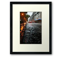 River Street, Savannah 2 Framed Print