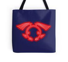 The Crimson Dragon's Mark Tote Bag