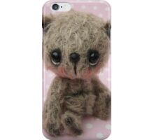 Wendell - Handmade bears from Teddy Bear Orphans iPhone Case/Skin