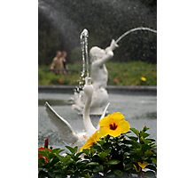 Faountain At Forsyth Park Photographic Print