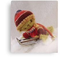 Bamber - Handmade bears from Teddy Bear Orphans Metal Print