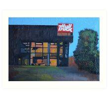 Hull, Hull Truck Theatre Art Print