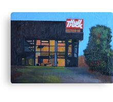 Hull, Hull Truck Theatre Canvas Print