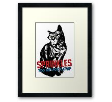 Hipster Sprinkles (series) Framed Print