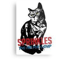 Hipster Sprinkles (series) Metal Print