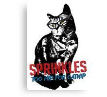 Hipster Sprinkles (series) Canvas Print