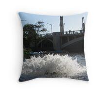 Fish Farts Throw Pillow