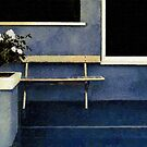 Set Piece with Gardenias by RC deWinter
