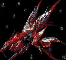Ragnarok final fantasy 8 by Bernardtime