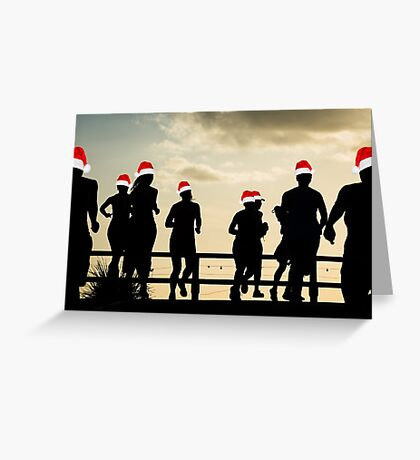 Christmas Runaways Greeting Card