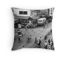 Urban Shanghai Throw Pillow