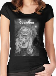 Foo Dog Women's Fitted Scoop T-Shirt