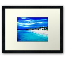 Mornington Peninsula Local Beach Framed Print