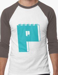 THE LETTER P Men's Baseball ¾ T-Shirt