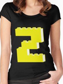 THE LETTER Z Women's Fitted Scoop T-Shirt