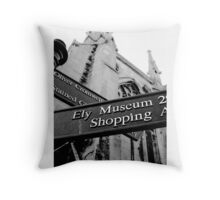 Ely Cathedral 6 Throw Pillow
