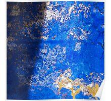 """Greek Colors"" Calendar 2015 - October Poster"
