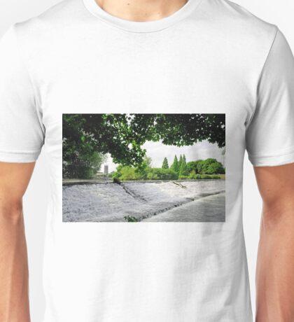 River Derwent Weir, Derby Unisex T-Shirt