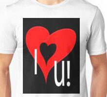 I lov u Unisex T-Shirt