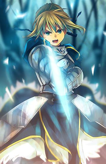 Fate / Saber by banafria