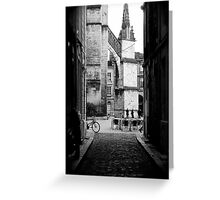 Rue Bordeaux Greeting Card