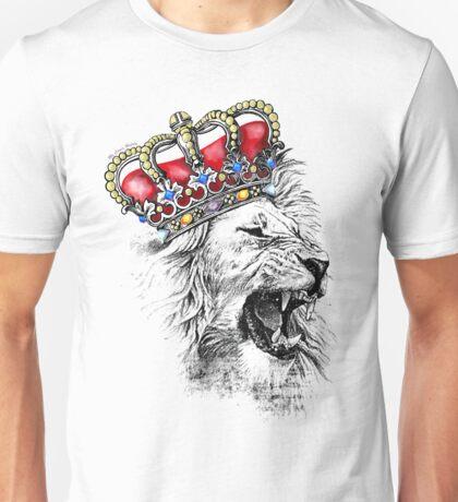 Corazon de leon Inglaterra Corona Unisex T-Shirt