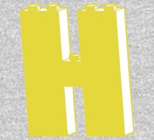THE LETTER H One Piece - Long Sleeve