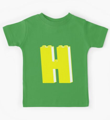 THE LETTER H Kids Tee