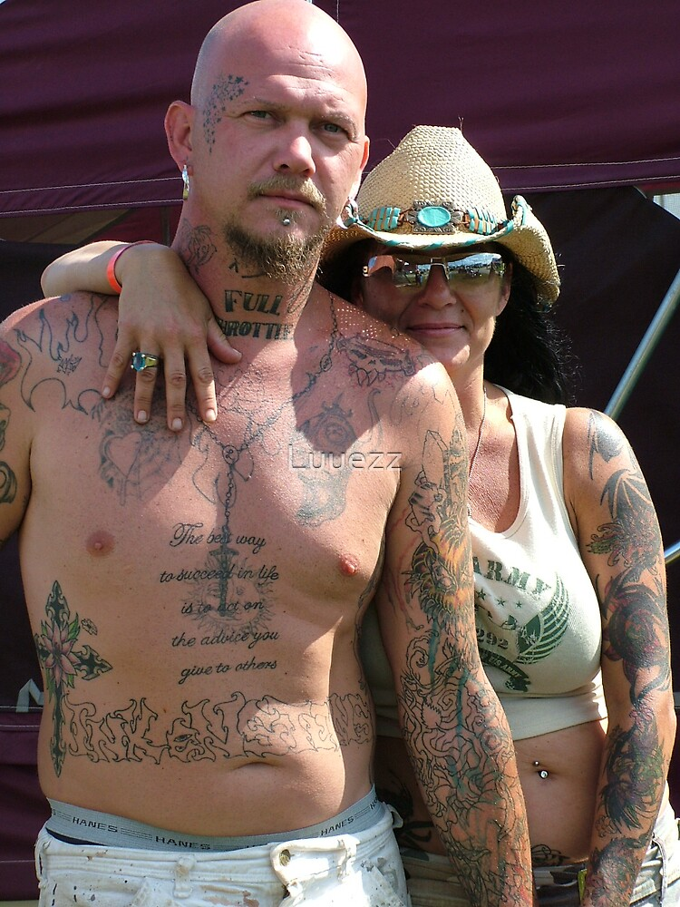 Tattooist & Wife by Luuezz