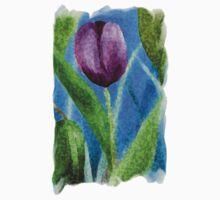 Sponge Tulip Magenta by Ruth Palmer