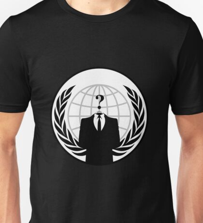 Anonymous Unisex T-Shirt