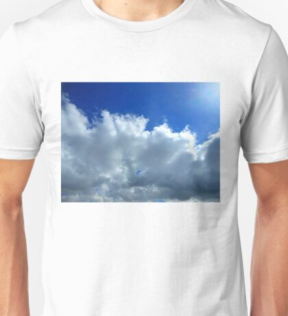 cloudy sky 03/25/17 Unisex T-Shirt