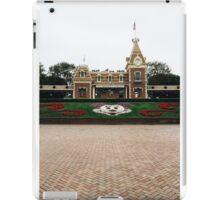 Disneyland entrance  iPad Case/Skin