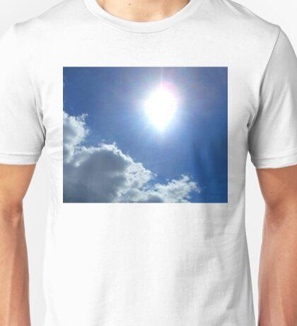 sunny cloudy sky 2 03/25/17 Unisex T-Shirt