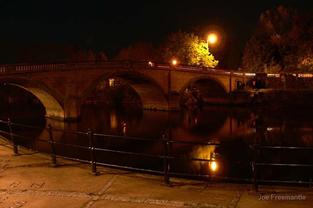 Bewdley Bridge by Joe Freemantle