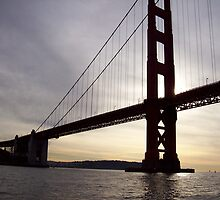 sunset at golden gate by kelly82