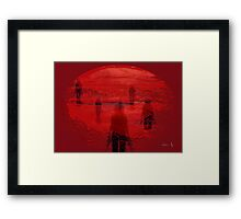 ...to the future Framed Print