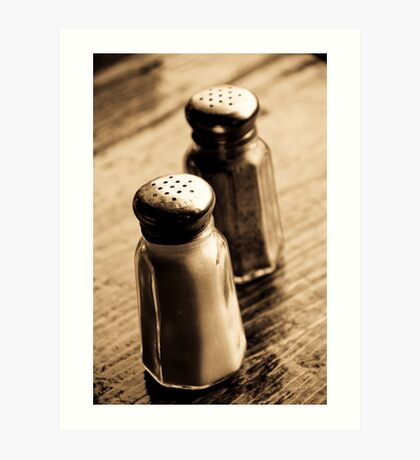salt, &, pepper Art Print