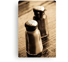 salt, &, pepper Canvas Print