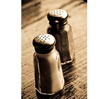 salt, &, pepper Photographic Print
