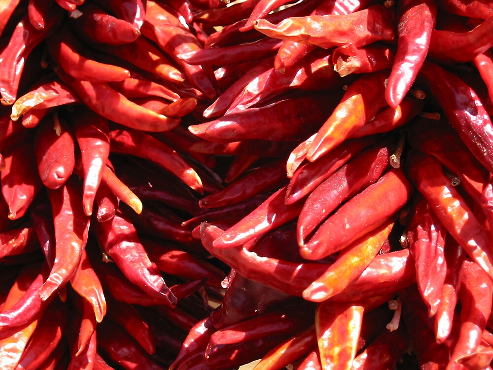 Chilli Peppers by Krys Squires